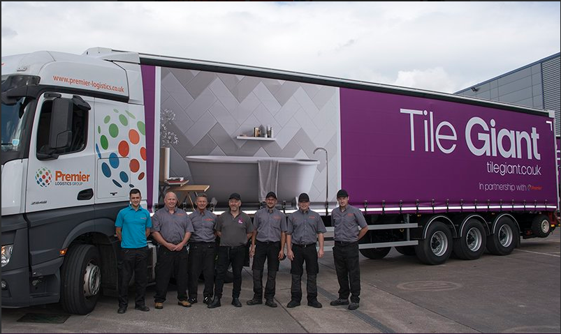 Premier Logistics Awarded Tile Giant Contract