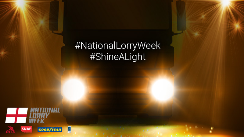 Love the lorry, Shine a light!