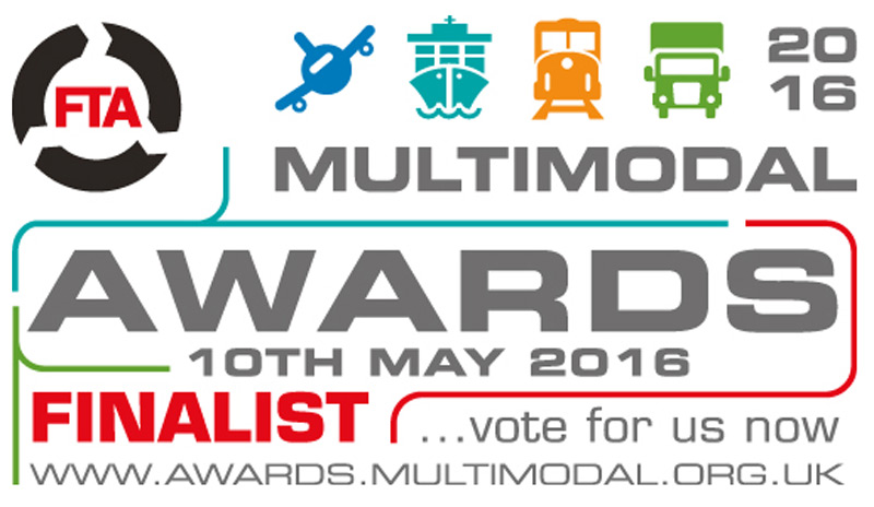 Premier Logistics named as finalist for 2016 Multimodal Awards, Road Freight Operator of the Year